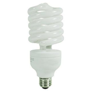 105 Watt CFL Light Bulb   Compact Fluorescent     420 W Equal   5000K Full Spectrum   80 CRI   68 Lumens per Watt   15 Month Warranty   GCP 169