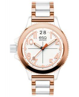 ESQ Movado Watch, Womens Swiss Fusion Stainless Steel Bracelet 36mm 07101404   Watches   Jewelry & Watches