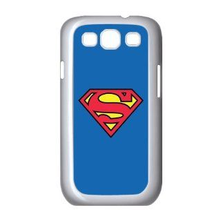 Superman Logo Samsung Galaxy S3 I9300 Cover Case Hard Case Cover with Silicone Core Fits, Sprint, T mobile and Verizon: Cell Phones & Accessories