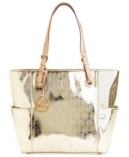 Michael Kors Signature Patent East West Tote Handbags Accessories