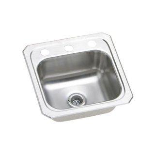 Elkay BCR151 Gourmet Celebrity Sink, Stainless Steel   Single Bowl Sinks
