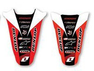 ONE INDUSTRIES REAR FENDER GRAPHIC HONDA CRF 150R 2007 2010 _ DE RF HO151: Automotive