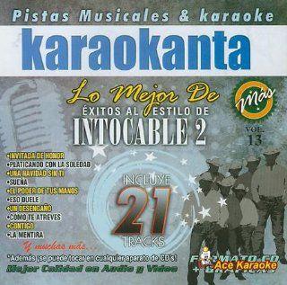 Karaokanta KAR 8013   intocable 2   Spanish CDG Music