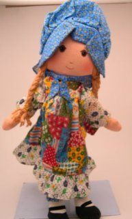 "16"" Vintage Holly Hobbie Knickerbocker Rag Doll Toys & Games"