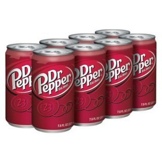 Dr. Pepper Soda 7.5 oz, 8 pk
