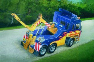 Scania 143R Wrecker Tow Truck 1/24 Italeri Toys & Games