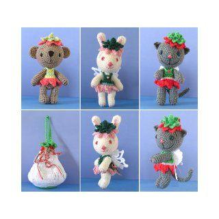 Amigurumi Flower Fairies, a Crochet Pattern By Sue Pendleton (BBT030) Sue Pendleton Books