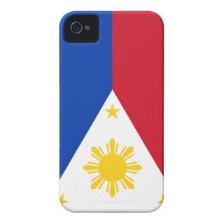 Philippines Flag Case Mate iPhone 4 Case