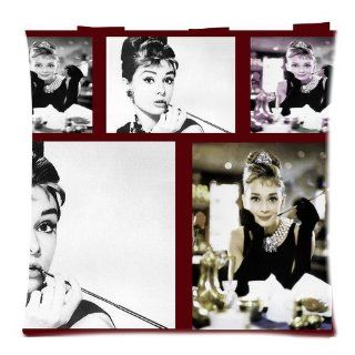 "Audrey Hepburn Classic Actress Pillow Covers DIY Cushion Cover Case 2 Sides 18""x18"" D141 01   Pillowcases"