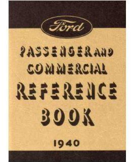 1940 FORD Car Full Line Owners Manual User Guide Automotive