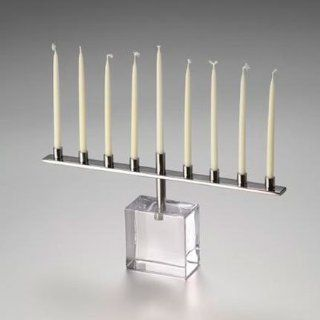 Simon Pearce Woodbury Menorah: Kitchen & Dining