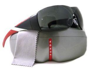 Prada Sport PS07HS Sunglasses 7OV/1A1 Gloss Black (Gray Lens) 133mm Shoes