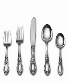 Towle Sterling Silver Flatware, King Richard 66 Piece Set   Flatware & Silverware   Dining & Entertaining