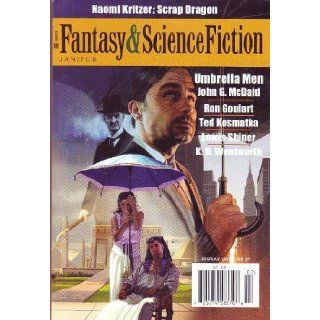 The Magazine of Fantasy & Science Fiction, January February 2012 (Vol. 122, No. 1&2): Ron Goulart, Lewis Shiner, Naomi Kritzer, John G. McDaid, Gordon Van Gelder: Books