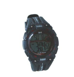 Q&Q M121J002Y Men's Pro Sport Time Digital Watch with Resin Strap Watches