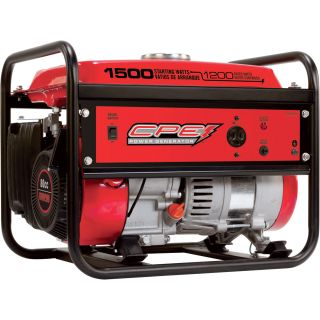 CPE Portable Generator — 1500 Surge Watts, 1200 Rated Watts, CARB-Compliant, Model# 42492  Portable Generators