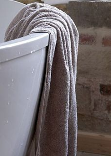 luxury bath towel: organic cotton by liv   organic & sustainable living