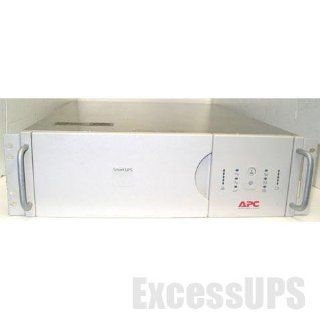 APC SMART UPS 2200 SU2200RM3U 2200VA 1600W 120V RACKMOUNT BATTERY BACK UP UPS: Electronics