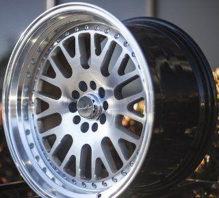 VARRSTOEN 2013 STYLE ES7 19X9.5 +12 19X11 +15 5X114.3 SILVER MACHINED WHEEL RIMS (set of four wheels) Automotive
