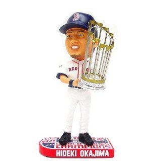Forever Collectibles Boston Red Sox 2007 World Series Champions Hideki Okajima Bobblehead  Sports Related Collectibles  Sports & Outdoors