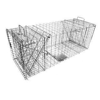 Tomahawk Original Series Model 109 Rigid Live Trap with Two Trap Doors for bobcat, fox, coyote & similar sized animals Tomahawk Live Trap Coyote Traps : Home Pest Control Traps : Patio, Lawn & Garden