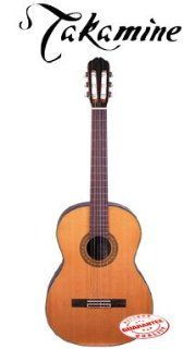 Takamine Concert Classic Acoustic Guitar W/Case C132S Musical Instruments