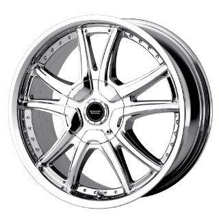 "American Racing Alert AR607 Chrome Wheel (15x7""/5x108mm) Automotive"