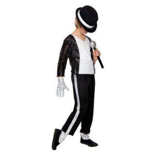 Kids Michael Jackson Billie Jean Costume Size Large: Toys & Games