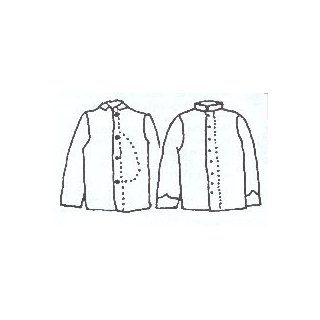 Boys Union Sack or Confederate Regimental Coat Pattern (Size  Medium 7 10) : Other Products : Everything Else