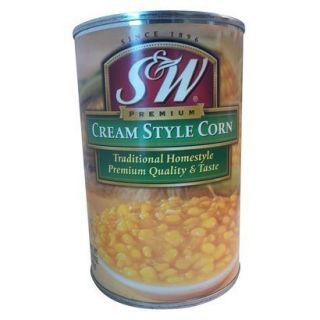 S&W Cream Style Corn 14.75 oz.