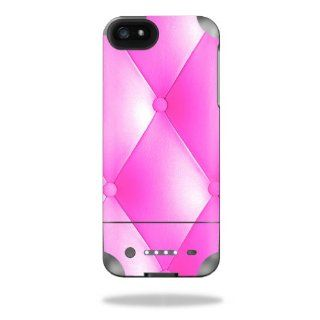 MightySkins Protective Vinyl Skin Decal Cover for Mophie Juice Pack Helium iPhone 5 External Battery Case Sticker Skins Pink Upholstery: Cell Phones & Accessories