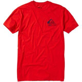 Quiksilver Original Slim T Shirt   Short Sleeve   Mens