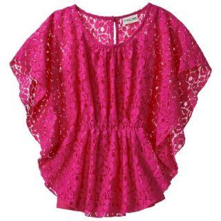 Cherokee Girls 3/4 Sleeve Shirt   So Pink M