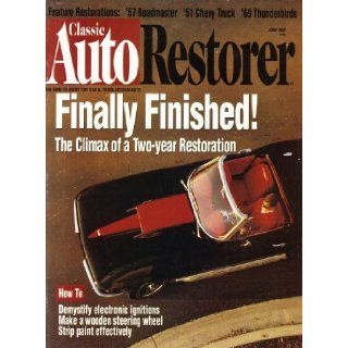 Classic Auto Restorer June 1997 magazine Volume 9 Number 6: Dan Burger: Books