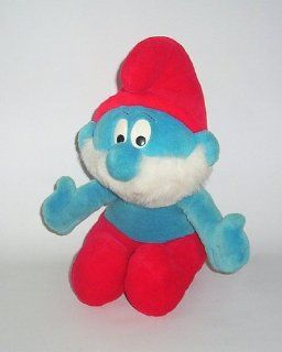 Papa Smurf Large Deluxe Plush Toy: Toys & Games