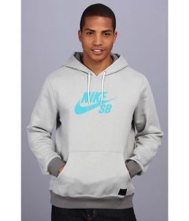 Nike SB Icon Pullover Hoodie Mens Long Sleeve Pullover (Gray)