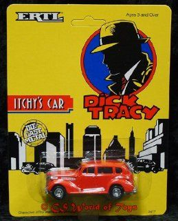 Ertl Collectibles Dick Tracey Itchy's car: Toys & Games