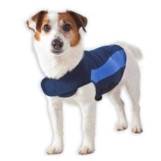 Thundershirt Behavior Modification Shirt For Dogs   XXLarge   XXL   Blue : Pet Coats : Pet Supplies