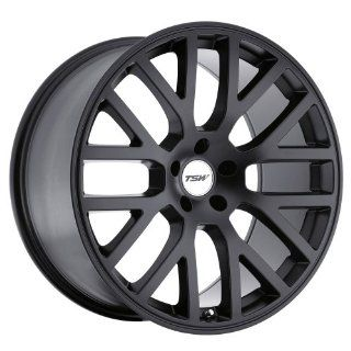TSW Donington 19 Black Wheel / Rim 5x4.5 with a 20mm Offset and a 76 Hub Bore. Partnumber 1980DON205114M76: Automotive