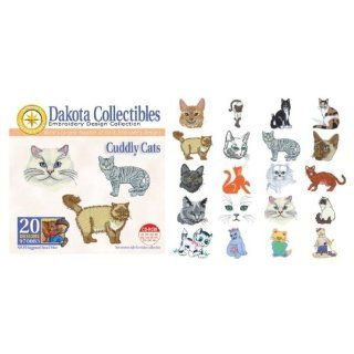 Dakota Collectibles   Cuddly Cats Multi Format Embroidery Designs CD   970083