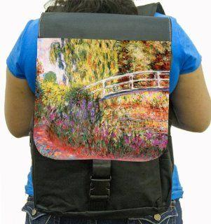 Rikki KnightTM Claude Monet Art Le Bassin Aux Nympheas Back Pack Computers & Accessories