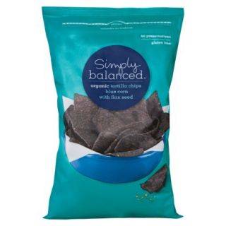 Simply Balanced Organic Blue Corn with Flax Seed