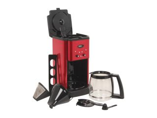 Cuisinart DCC 1200 Brew Central 12 Cup Programmable Coffee maker Metallic Red