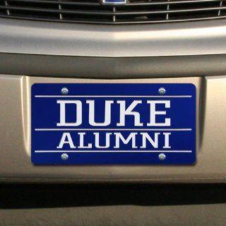Duke Blue Devils Duke Blue Mirrored Alumni License Plate Automotive
