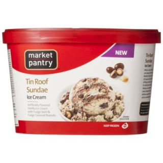 Market Pantry Tin Roof Sundae Ice Cream 1.5 qt.