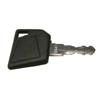 Ignition key for Bobcat, Bomag, Caterpillar, Dynapac, Ford, Gehl, Hamm, Hang, JCB, Moxy, New Holland, Rayco, Sky Trak, Terex, Vibromax, Volvo, Part Number 14607: Industrial & Scientific