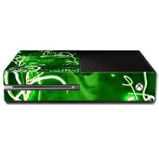 MightySkins Protective Vinyl Skin Decal Cover for Microsoft Xbox One Console Sticker Skins Scratch: Video Games