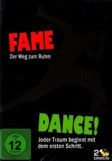 Fame   Der Weg zum Ruhm / Dance! Jeder Traum beginnt mit dem ersten Schritt 2 DVDs: Irene Cara, Antonio Banderas, Sir Alan Parker, Liz Friedlander: DVD & Blu ray