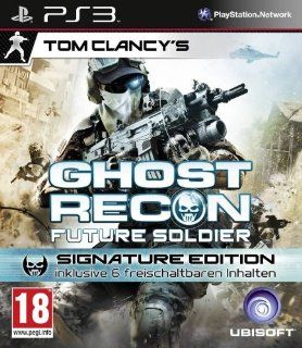 Tom Clancy's Ghost Recon Future Soldier   Signature Edition [AT PEGI]: Playstation 3: Games