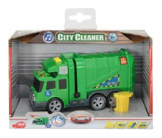 Dickie Spielzeug 203413572   Action Series City Cleaner, L�nge 15 cm, gr�n: Spielzeug
